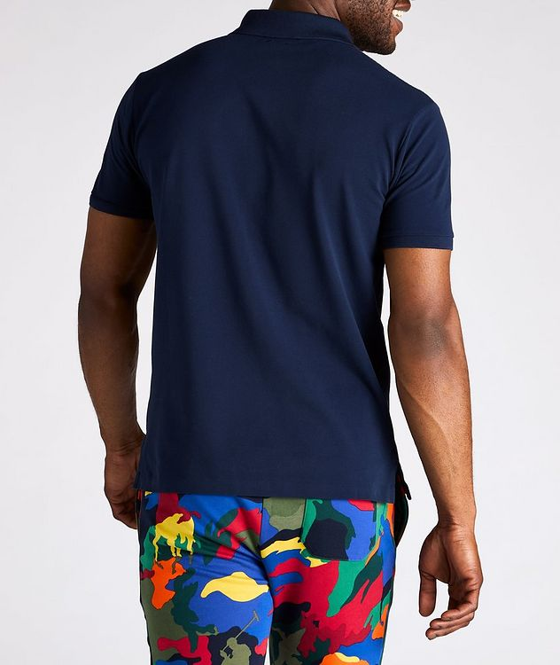 Slim Fit Stretch Mesh Polo picture 4