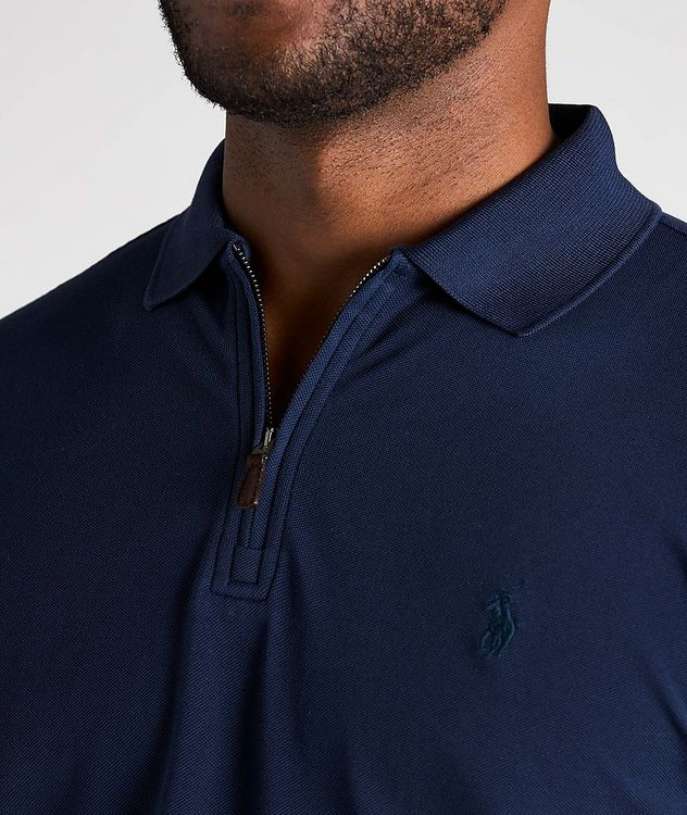 Slim Fit Stretch Mesh Polo picture 5