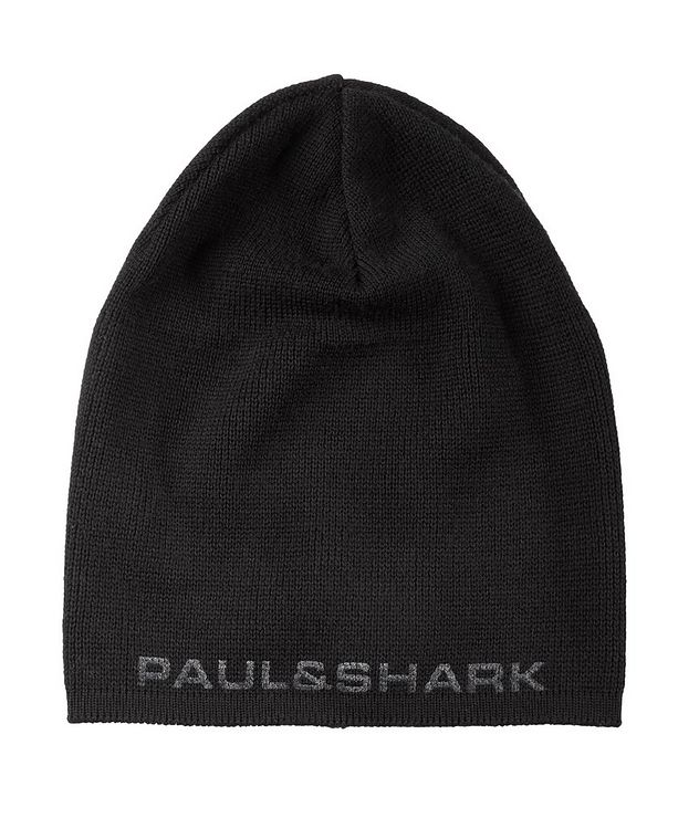 Printed Logo Wool Toque picture 1