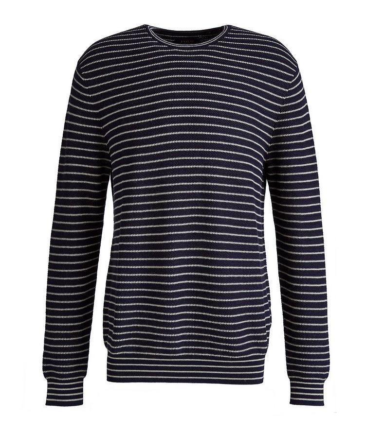 Striped Cotton Sweater image 0