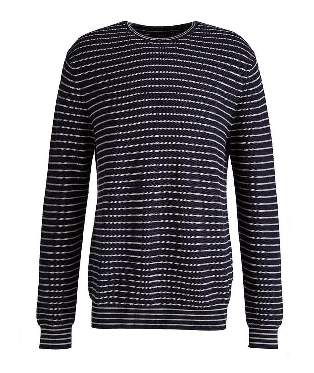 Striped Cotton Sweater picture 1