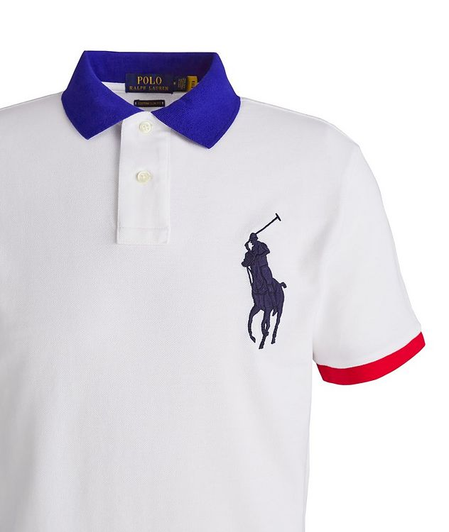 Slim-Fit Cotton Piqué Polo picture 2