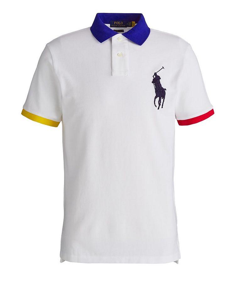 Slim-Fit Cotton Piqué Polo image 0