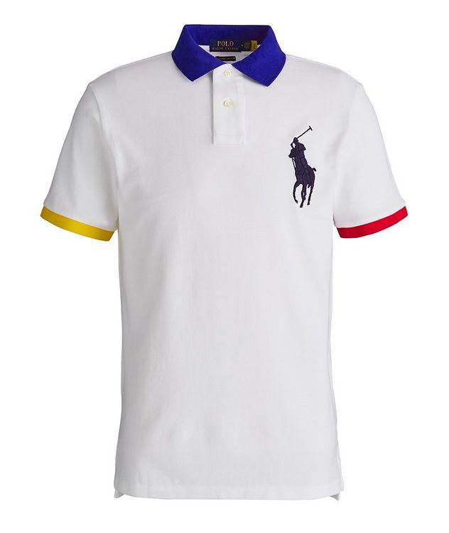 Slim-Fit Cotton Piqué Polo picture 1