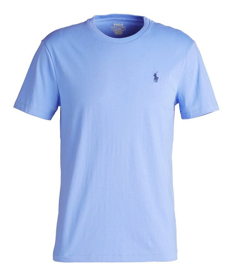 Slim-Fit Cotton T-Shirt image 0