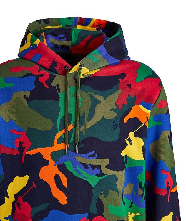 Camo Pony Cotton-Blend Hoodie picture 2