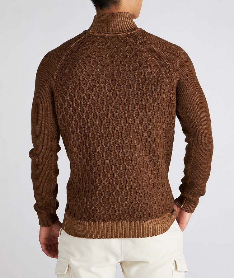 Cable-Knit Wool Turtleneck image 2