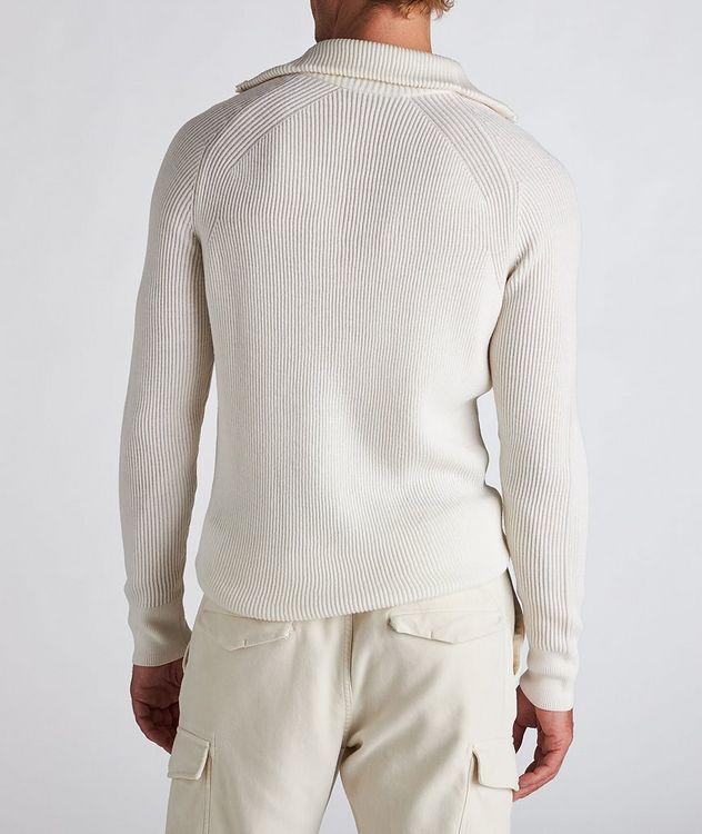 Half-Zip Wool Turtleneck picture 3