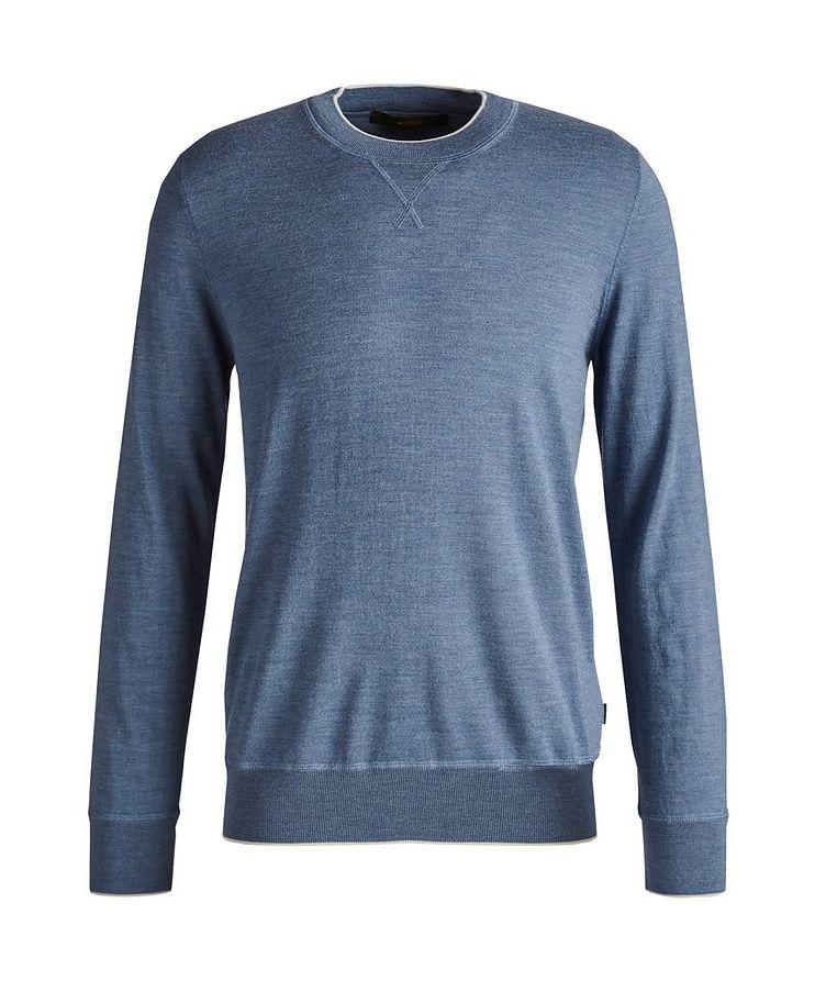 Nando Wool-Silk-Cashmere Pullover image 0
