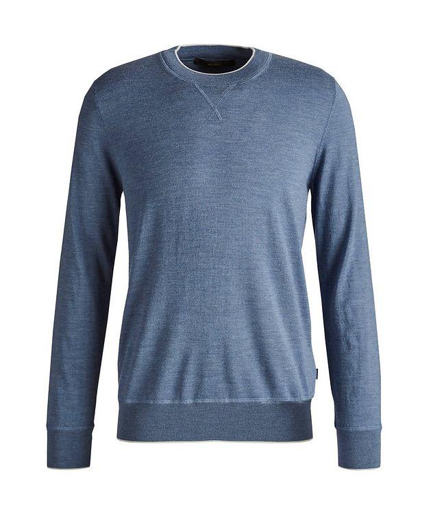 Nando Wool-Silk-Cashmere Pullover picture 1