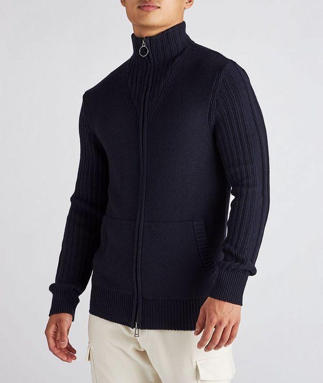 Wool Zip-Up Cardigan picture 2