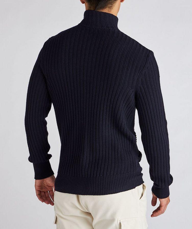 Wool Zip-Up Cardigan image 2