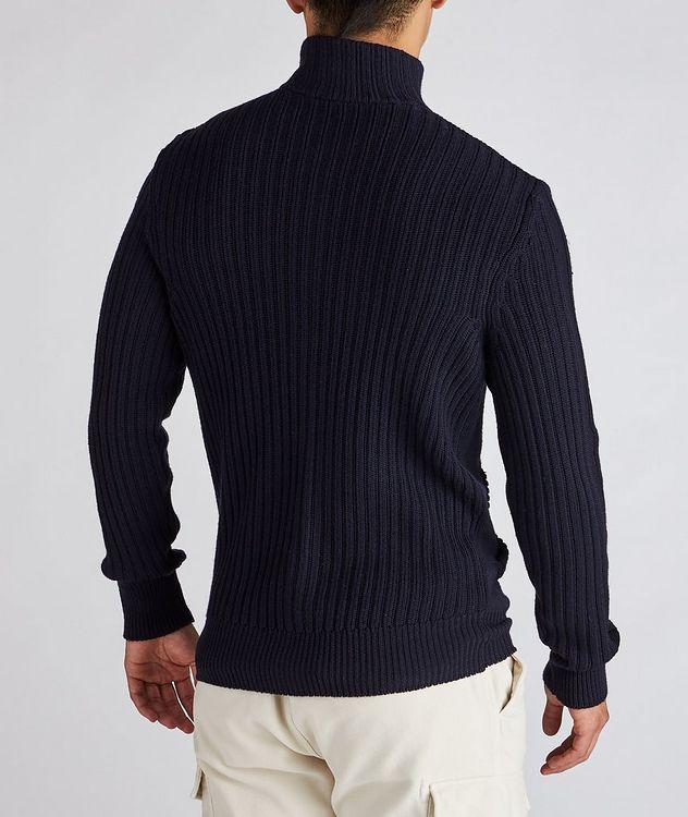 Wool Zip-Up Cardigan picture 3