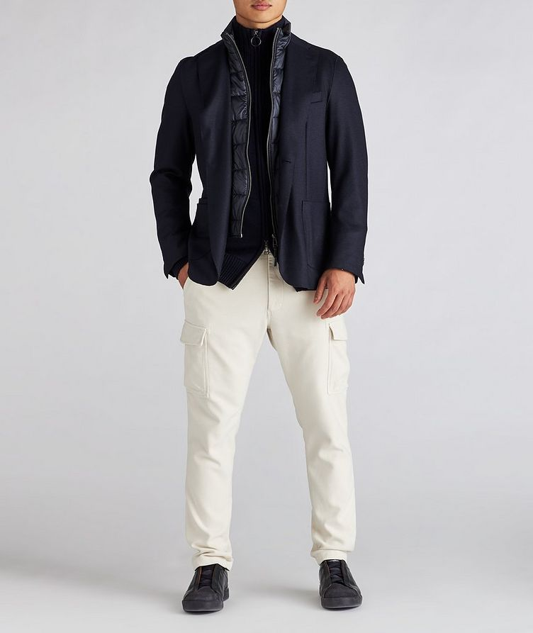 Wool Zip-Up Cardigan image 4