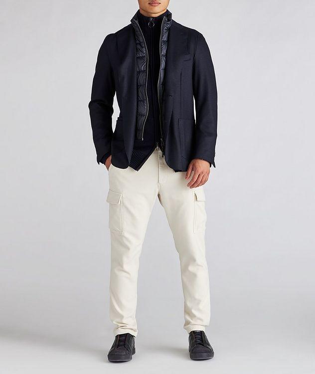Wool Zip-Up Cardigan picture 5