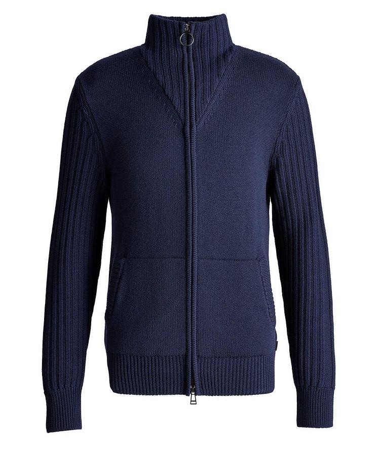 Wool Zip-Up Cardigan image 0