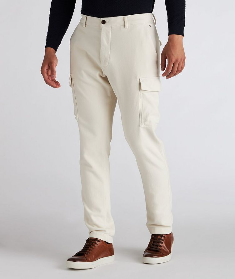 Stretch Cotton Cargo Pants image 1