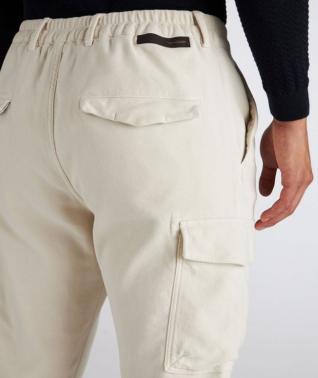 Stretch Cotton Cargo Pants picture 4