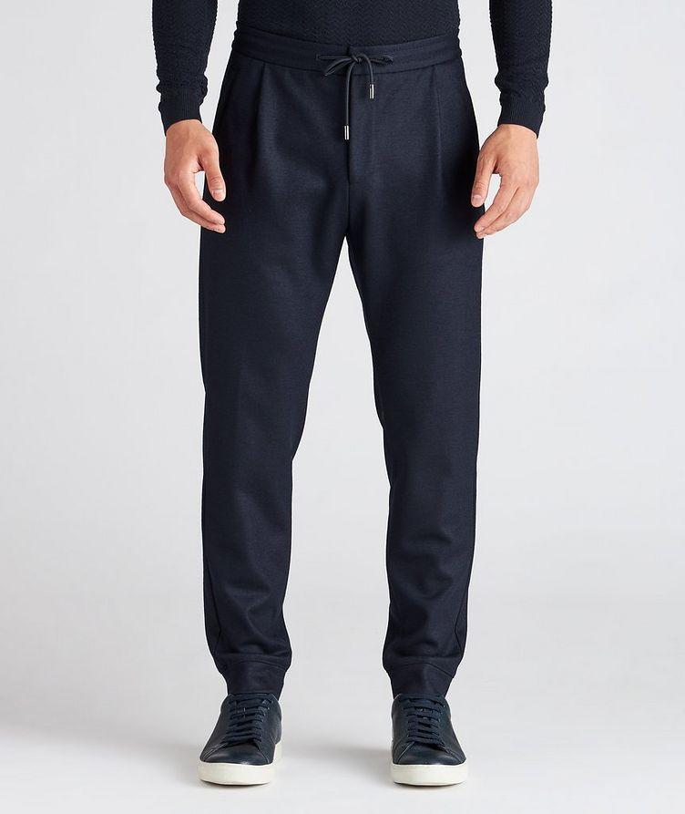 Stretch Wool Track Pants image 1