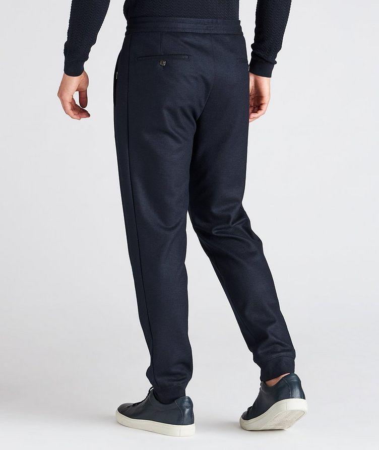 Stretch Wool Track Pants image 2