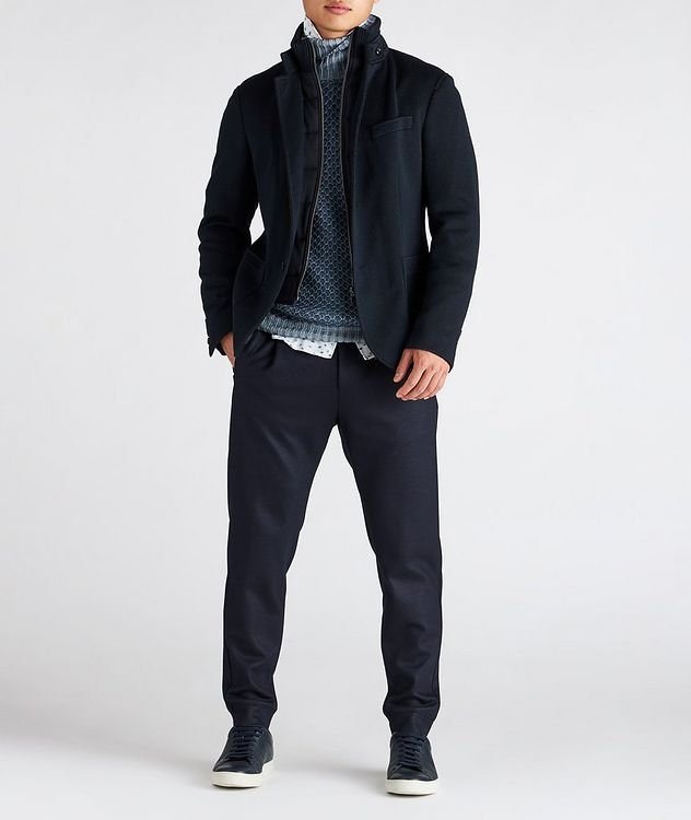 Stretch Wool Track Pants picture 6