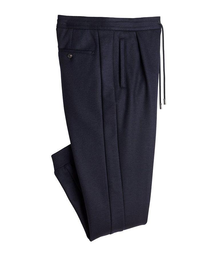 Stretch Wool Track Pants image 0