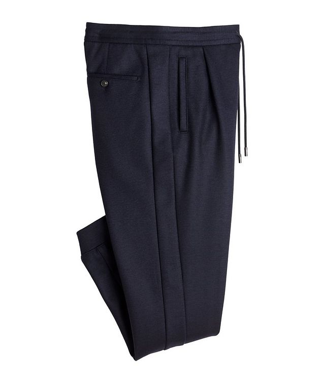 Stretch Wool Track Pants picture 1