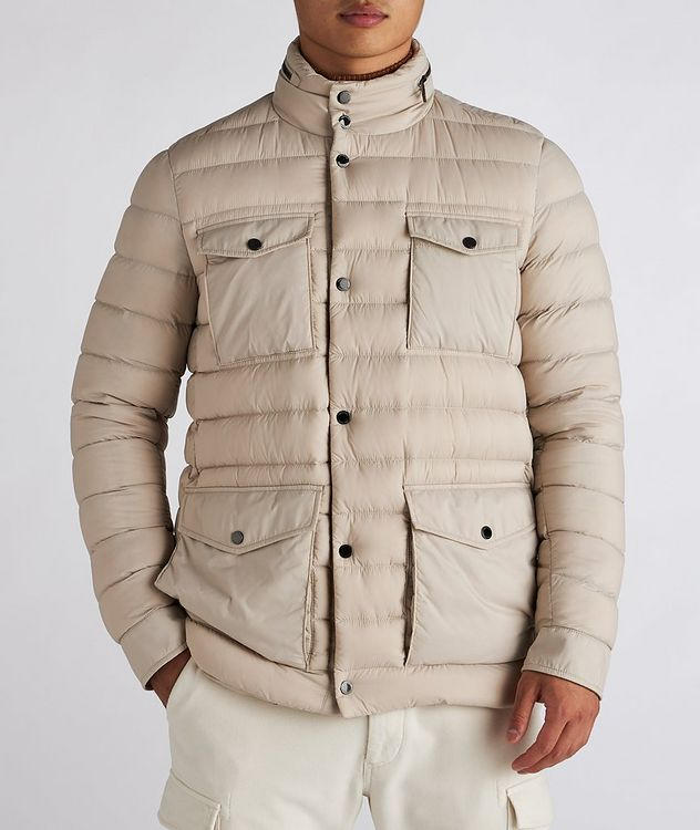 Hooded Quilted Down Puffer Jacket picture 2