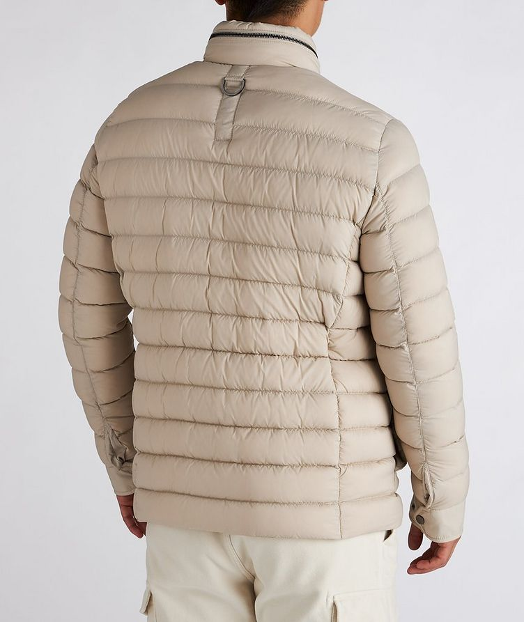 Hooded Quilted Down Puffer Jacket image 2
