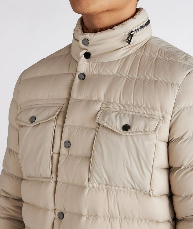 Hooded Quilted Down Puffer Jacket picture 4