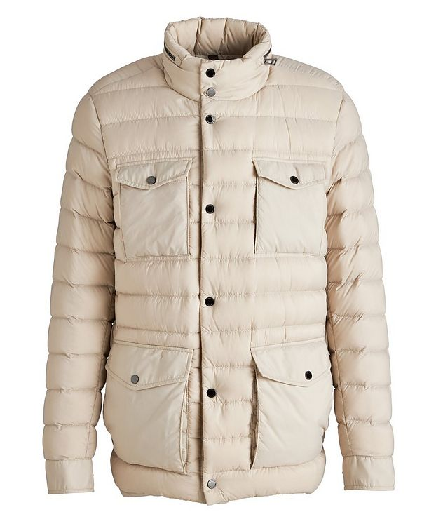 Hooded Quilted Down Puffer Jacket picture 1