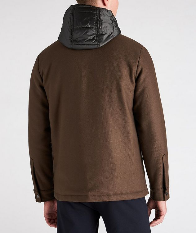 Hooded Wool-Blend Chore Jacket picture 3