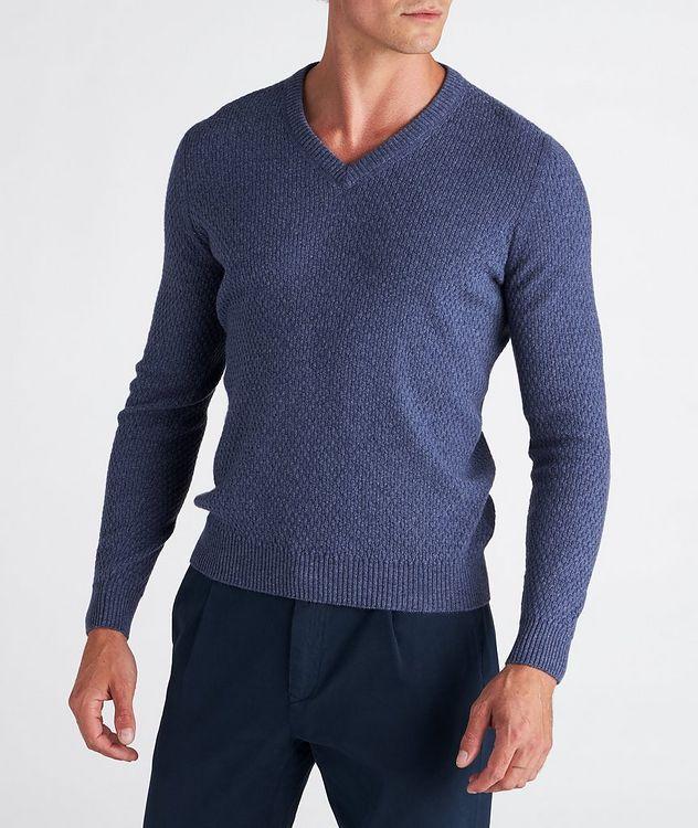 V-Neck Cashmere Sweater picture 2
