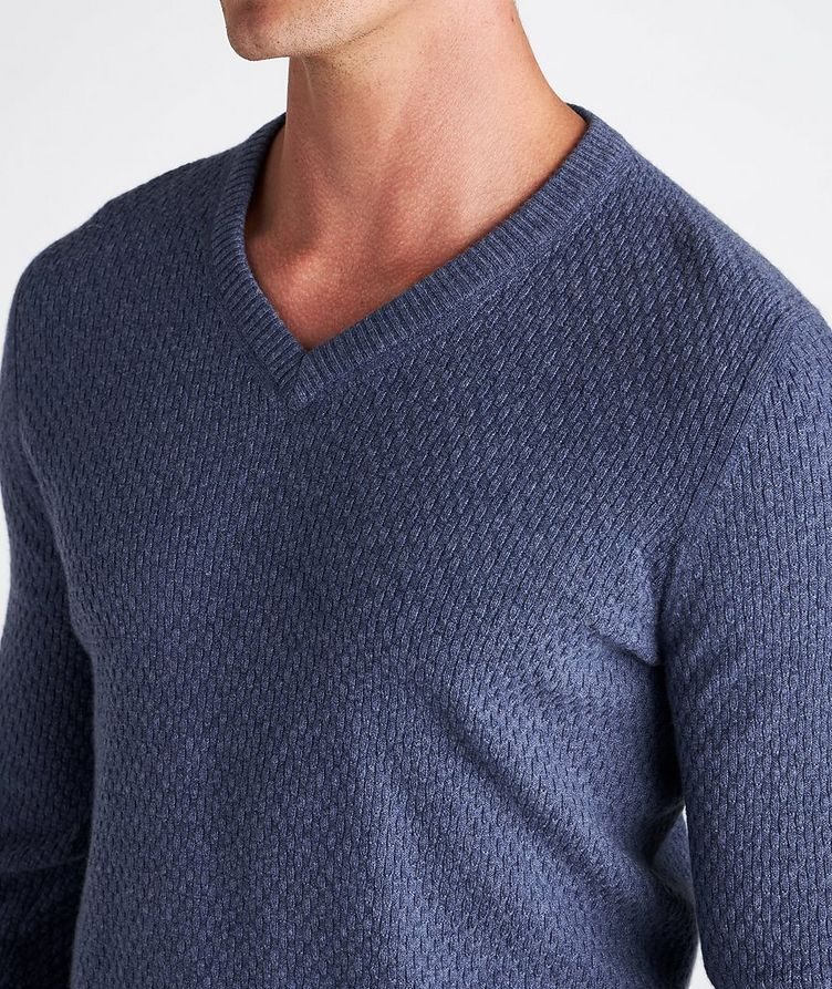 V-Neck Cashmere Sweater image 3
