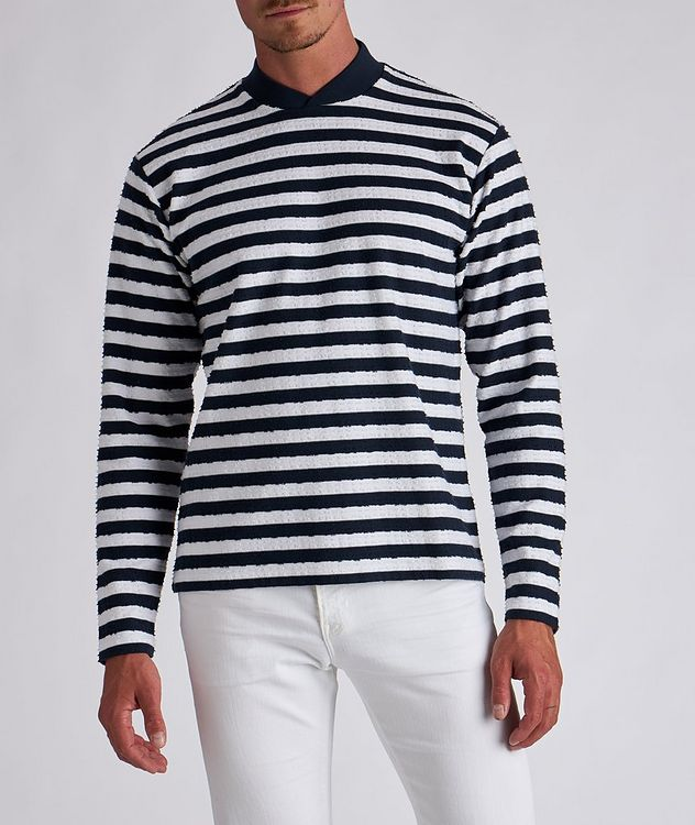 Bretton Stripe Long Sleeve T-Shirt picture 2