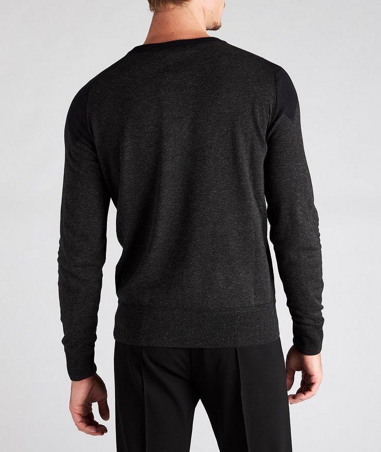 Diamond Cotton-Blend Sweater image 2