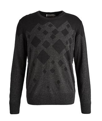 Canali Diamond Cotton-Blend Sweater