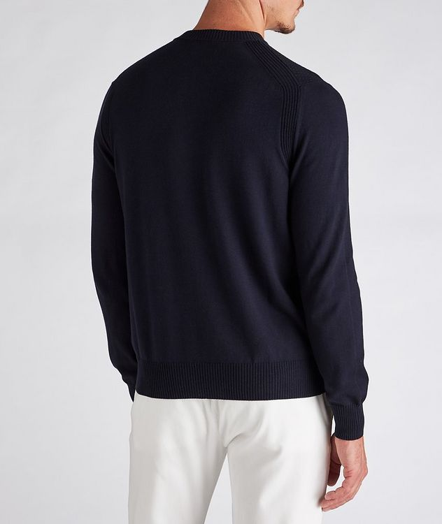 Textured Cotton-Blend Sweater picture 3