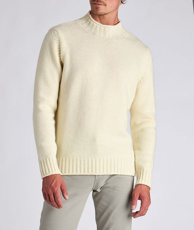 Wool Fisherman Sweater picture 2
