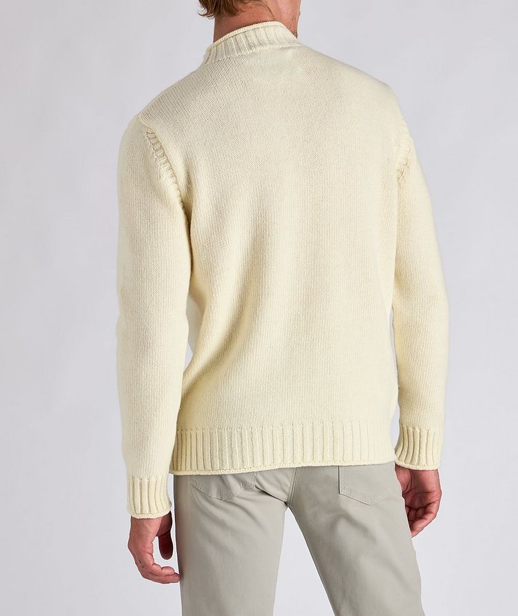 Wool Fisherman Sweater image 2