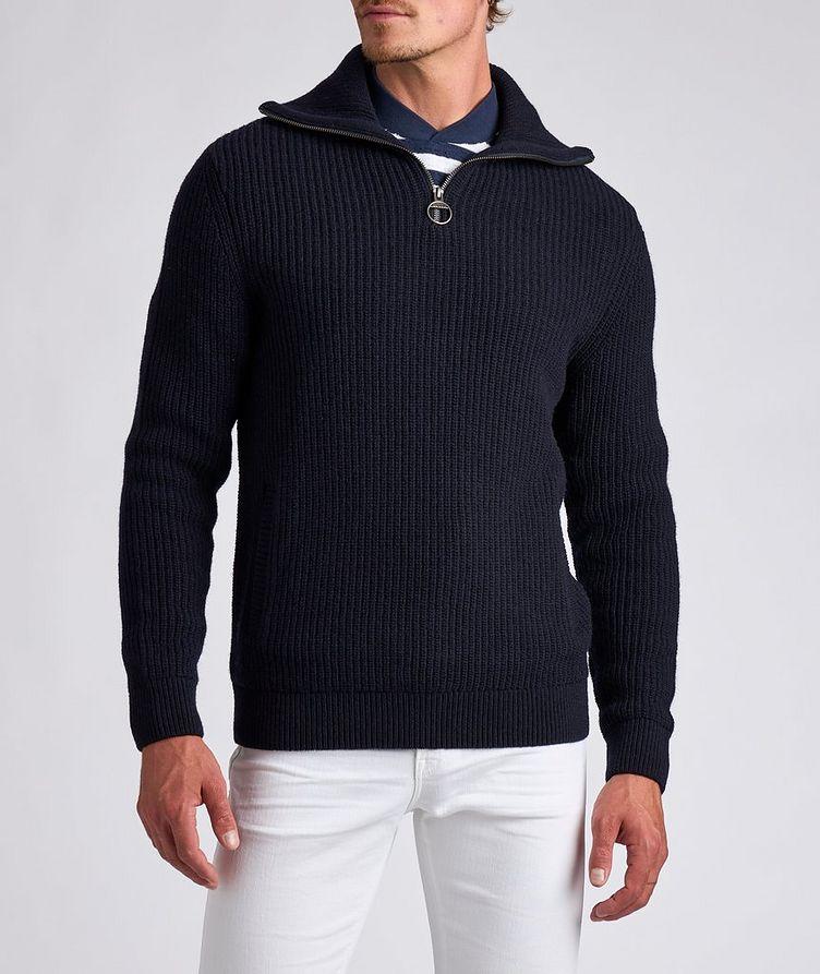 Half-Zip Wool Sweater image 1