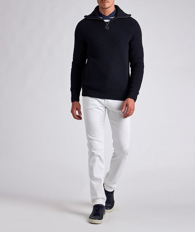 Half-Zip Wool Sweater picture 4