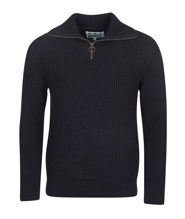 Half-Zip Wool Sweater image 0