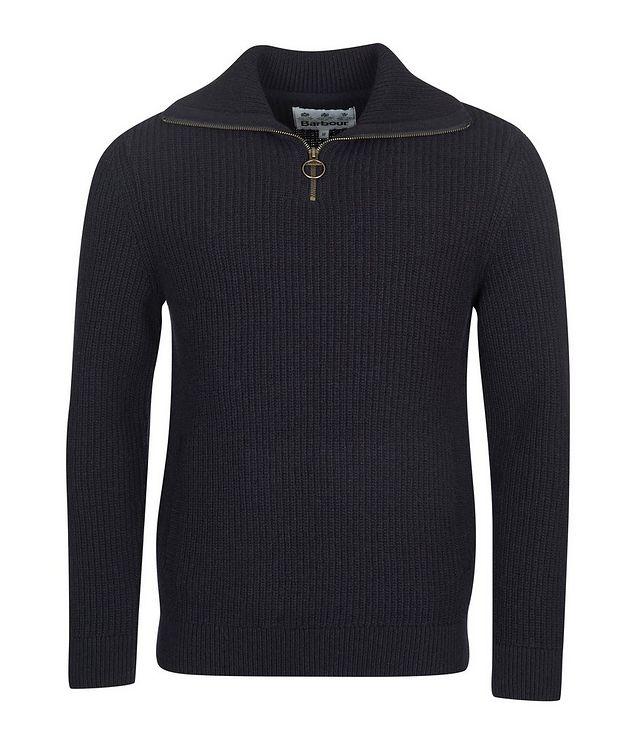 Half-Zip Wool Sweater picture 1