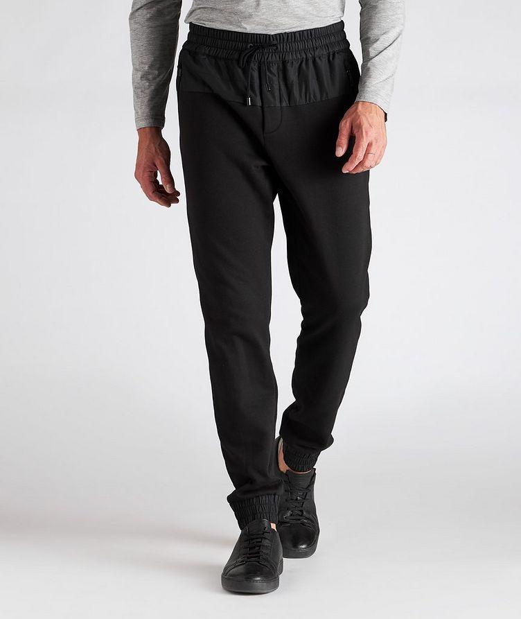Drawstring Cotton-Blend Track Pants image 1