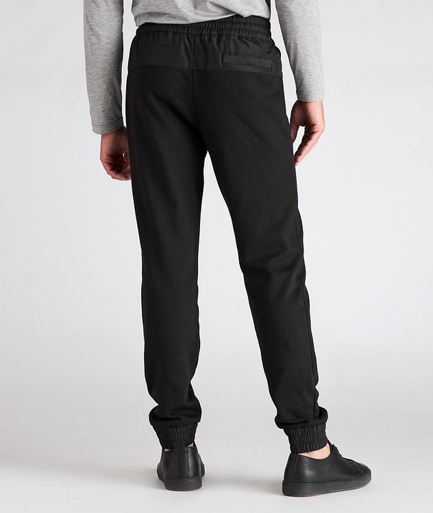 Drawstring Cotton-Blend Track Pants picture 3