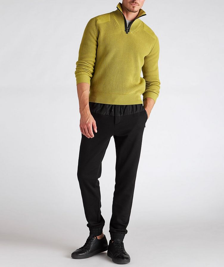 Drawstring Cotton-Blend Track Pants image 4