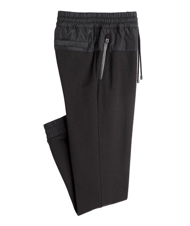 Drawstring Cotton-Blend Track Pants picture 1