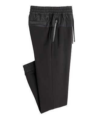 Canali Drawstring Cotton-Blend Track Pants