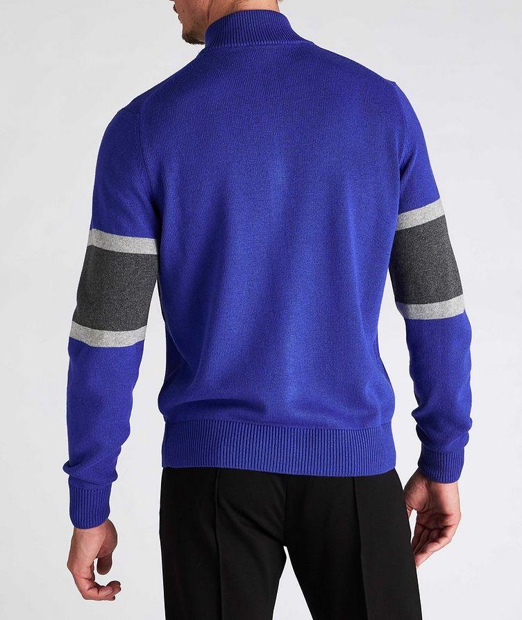 Zip-Up Cotton-Blend Cardigan image 2